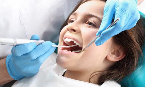 Dentist Checking Child Dental Issues