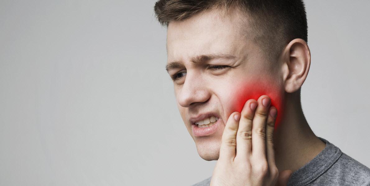 Man Having Dental Issue